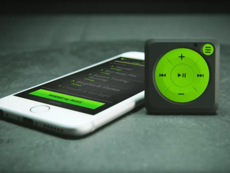 Der Mighty macht den iPod shuffle zum Spotify-Client