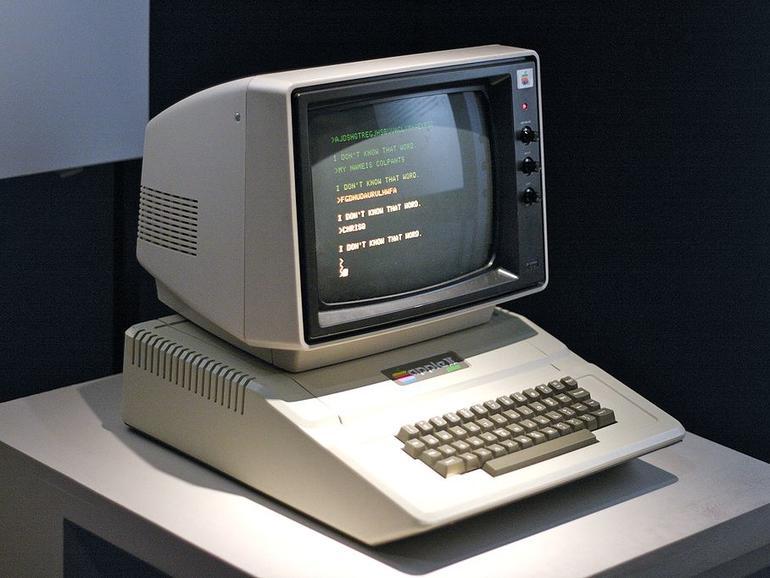 Der Apple II ist im Video auch in 1997 noch sehr erfolgreich