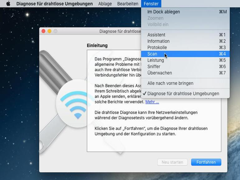 So findest du den besten WLAN-Kanal für deinen Mac