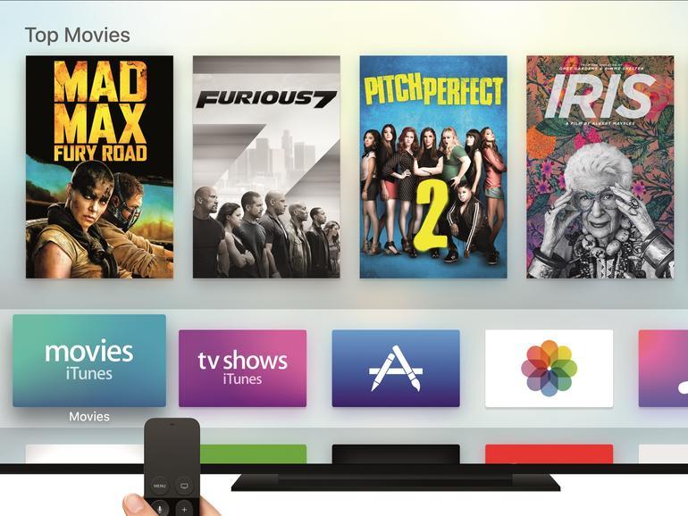 Apple hat die App Store-Kategorien von tvOS ausgebaut