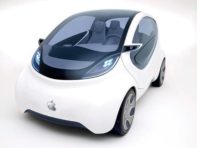 So stellt sich der Designer das Apple Car vor