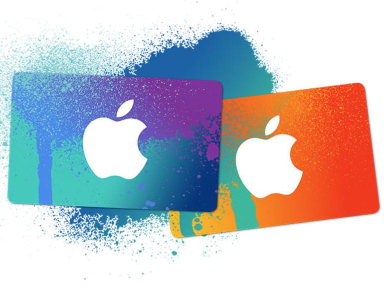 iTunes-Karten sind wieder im Angebot