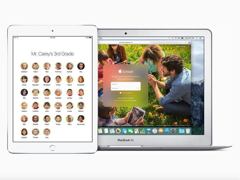 Für den Bildungs- und Unternehmensbereich hat Apple mit iOS 9.3 neue Funktionen hinzugefügt