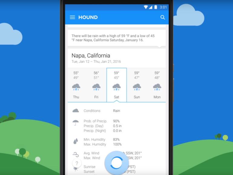 Hound ist ein neuer Sprachassistent für iOS