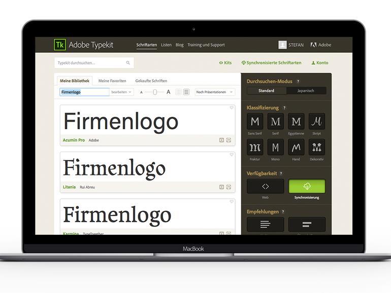 Adobe Typekit: So funktioniert die Schriften-Flatrate für Jedermann