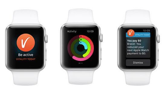 Vitality Active Rewards mit der Apple Watch