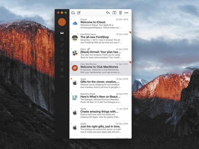 AirMail 2 ist eine exzellente und relativ kostengünstige Alternative zu Apple Mail