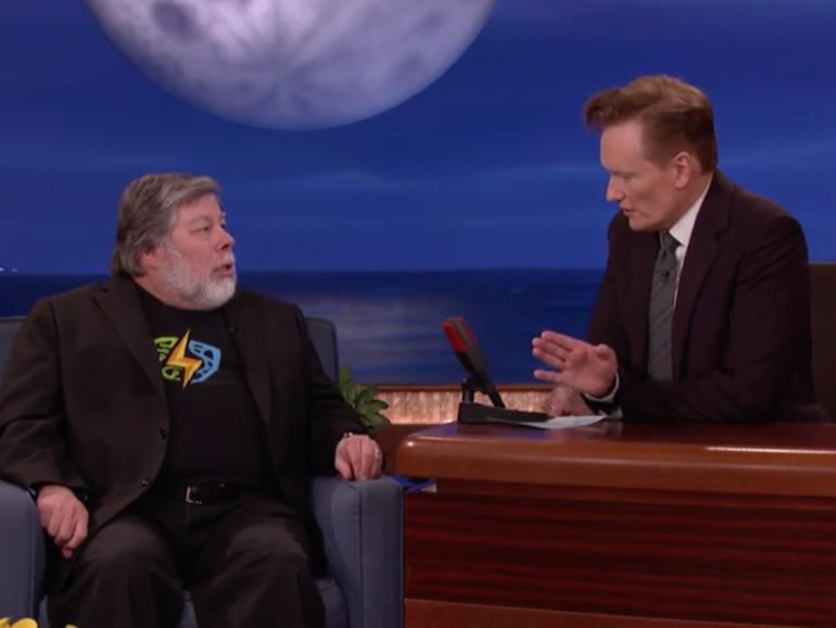 "Steve ""Woz"" Wozniak äußert sich bei Conan O'Brien zur Verschlüsselungsdebatte"