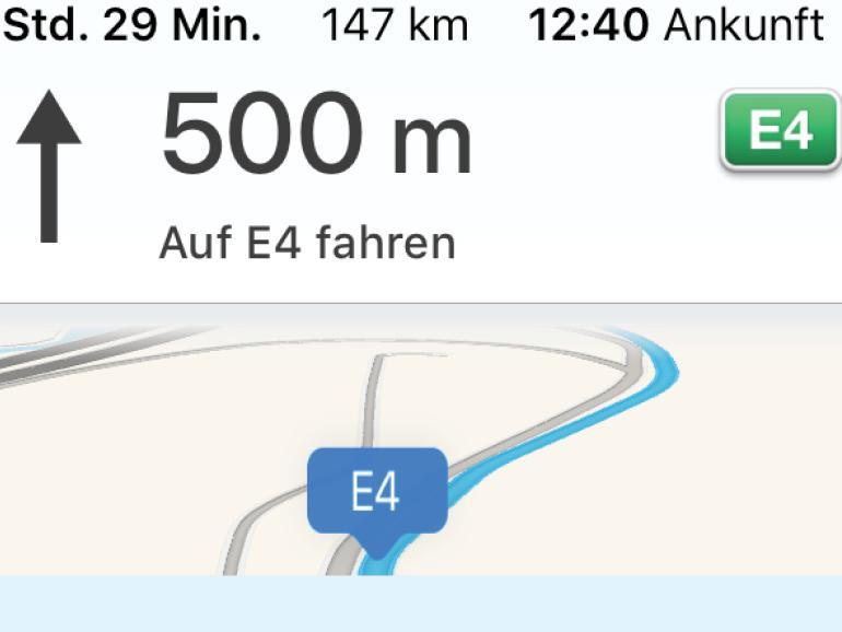 Offline-Navigation mit dem iPhone - so geht's