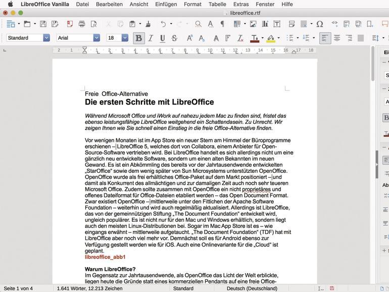 Kostenlose Office-Alternative: LibreOffice im Überblick