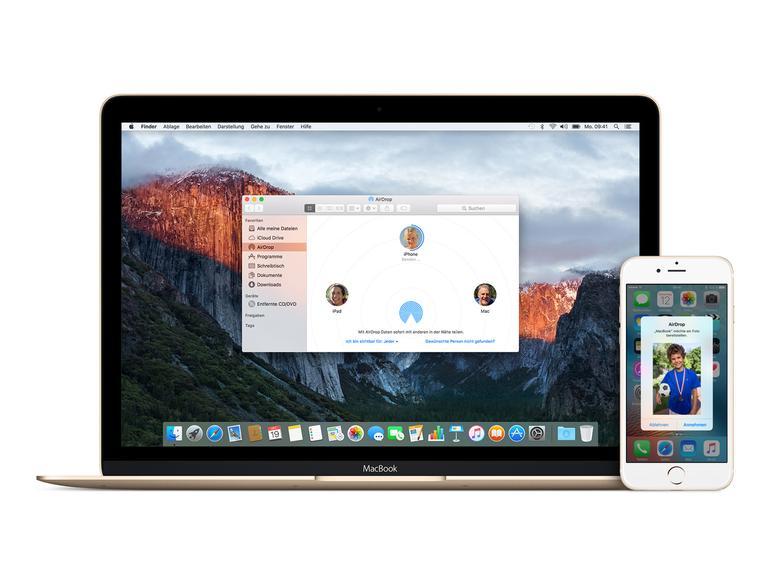 airdrop iphone mac geht nicht