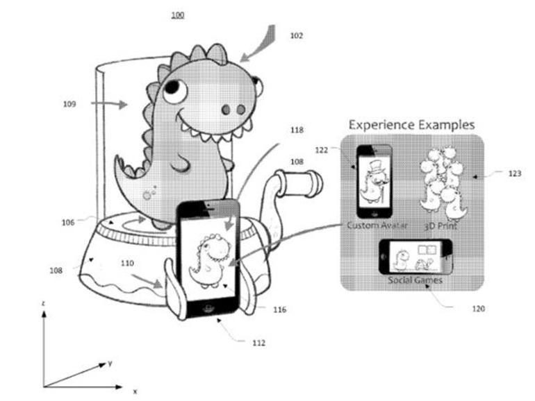Hasbro 3D-Scanner für das iPhone