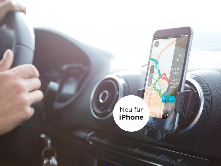 Die TomTom GO Mobile App ist nun auch für das iPhone verfügbar