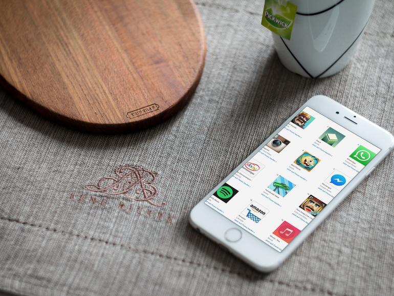 Leider werden nicht alle Apps im App Store richtig angezeigt