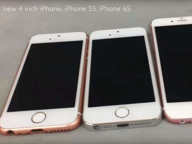 Die chinesische Kopie des iPhone SE sieht sehr überzeugend aus