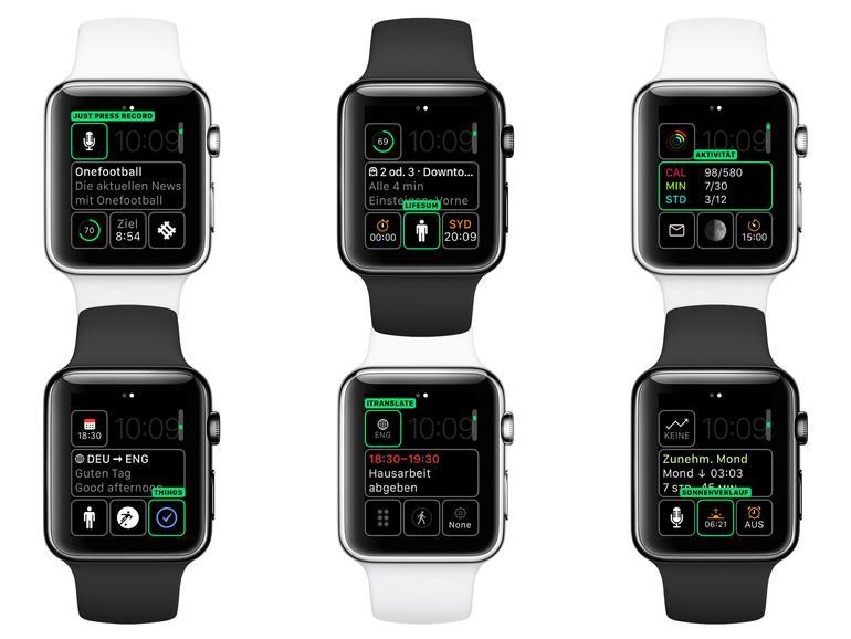 Zu den Standard-Komplikationen, die uns Apple mitgibt, haben sich mittlerweile einige von Drittanbietern hinzugesellt, sodass die Anzahl der Individualisierungsmöglichkeiten der Apple Watch weiter in die Höhe steigt