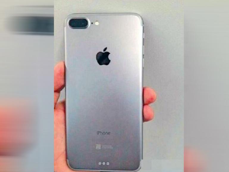 Ist das ein Foto des iPhone 7 Pro mit Dualkamera?
