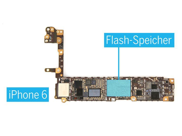 iDoc hat eine Anleitung zum Austausch des Flash-Speichers eines iPhones veröffentlicht