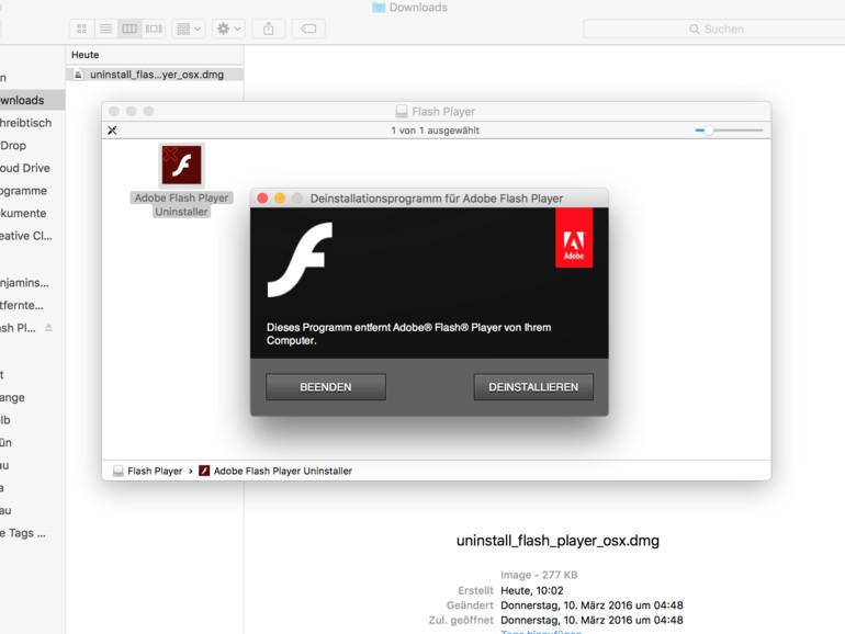So wirst du Flash wieder los (und machst deinen Mac somit sicherer und schneller)