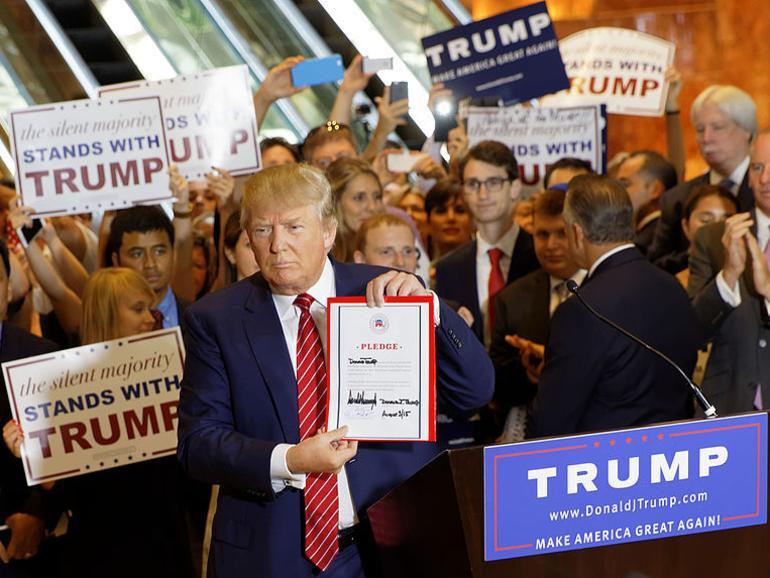 Trump hat vor einiger Zeit zu einem Boykott Apples aufgerufen