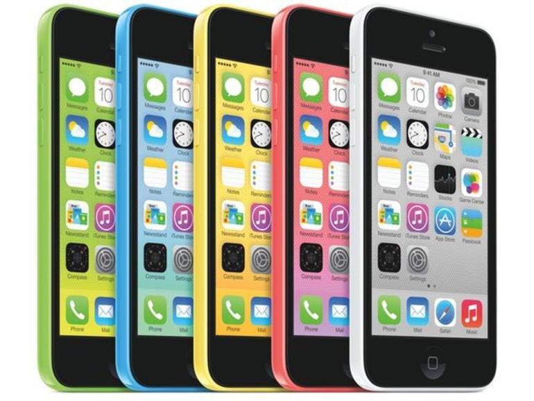 Ein Vergleich zum iPhone 5c verbietet sich