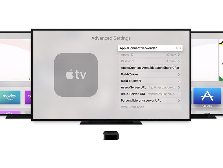 So greifst du auf die versteckten Einstellungen deines Apple TV zu