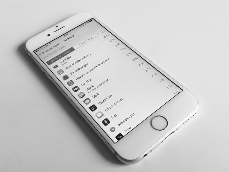 Wir haben bereits viele stromfressende Drittanbieter-Apps deinstalliert.