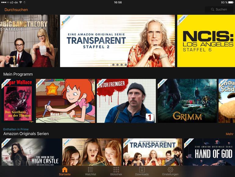 Auf dem iPad hat man einfach etwas mehr Platz beim Blättern. Da macht natürlich auch das Ansehen der Filme mehr Spaß. Vom iPhone streamt man wohl eher auf ein Apple TV am Fernseher, falls vorhanden.