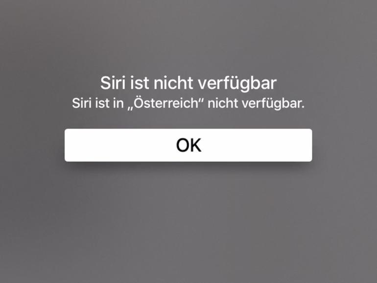 Apple TV 4: So lässt sich Siri in Österreich und der Schweiz aktivieren