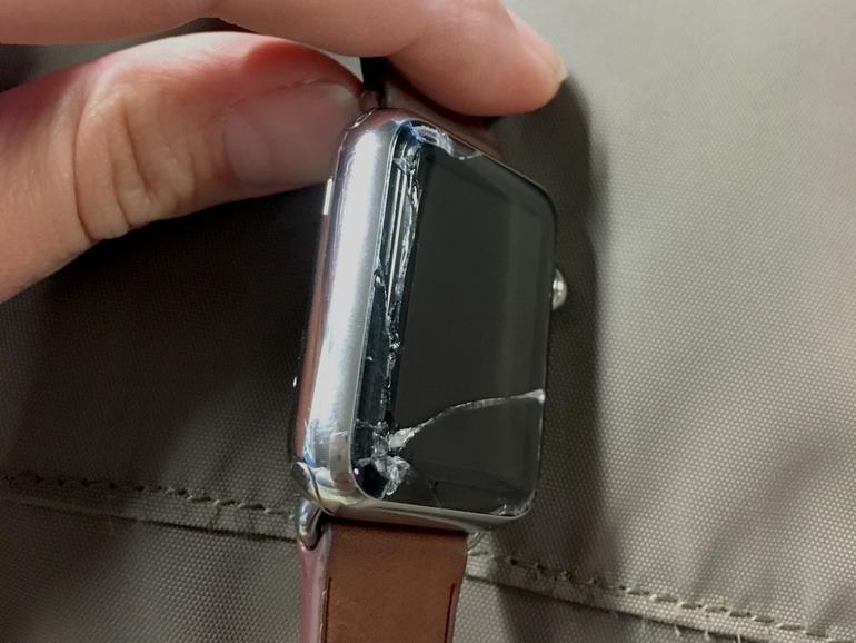 Defekte Apple Watch