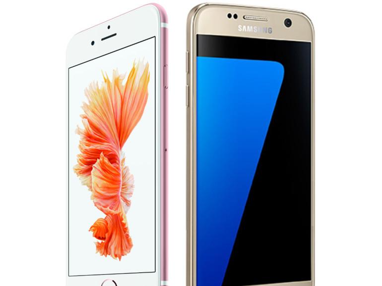 Apple & Samsung haben zwei sehr hochwertige Smartphones im Angebot