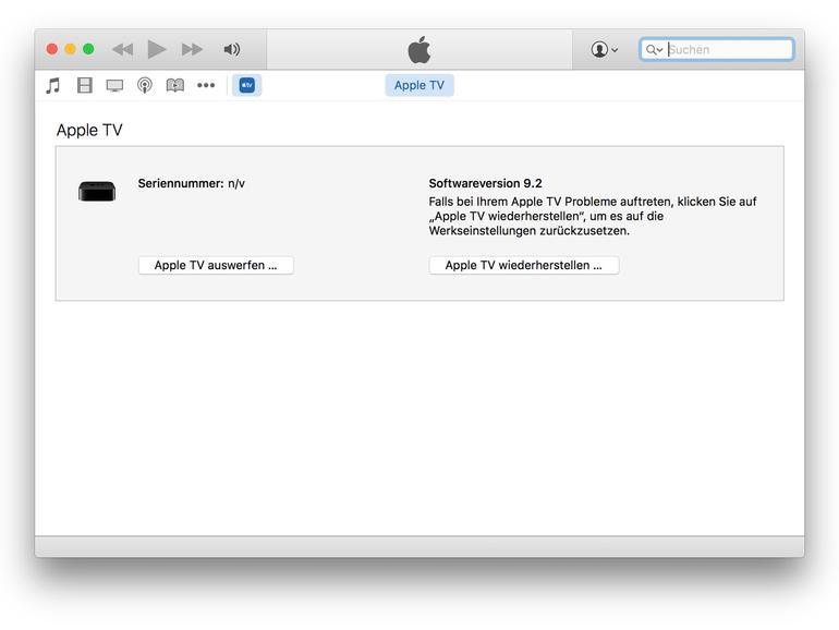 Apple TV 4: So aktivierst du den Recovery-Modus