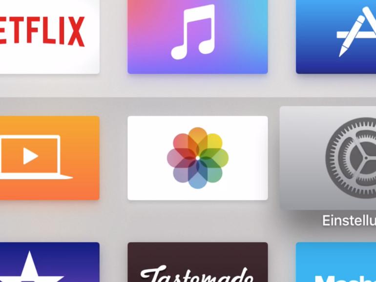 Live Photos auf dem Apple TV betrachten - so geht's
