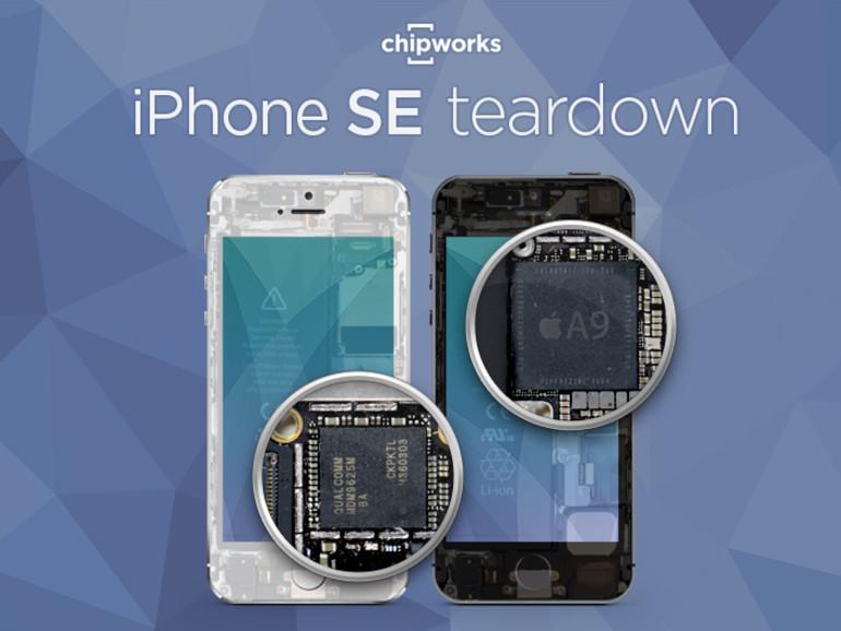 Chipworks hat das iPhone SE auseinandergebaut