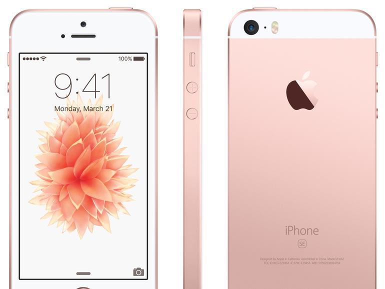 iPhone SE: Altbekanntes Profil, geringfügig variiert.