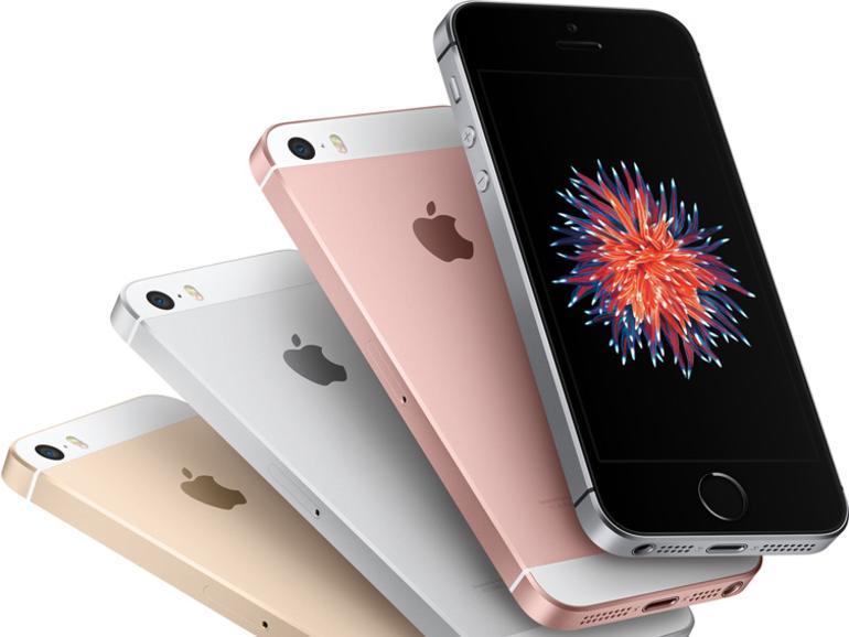 Auswahl satt: Das iPhone SE ist in vier verschiedenen Farben zu haben.