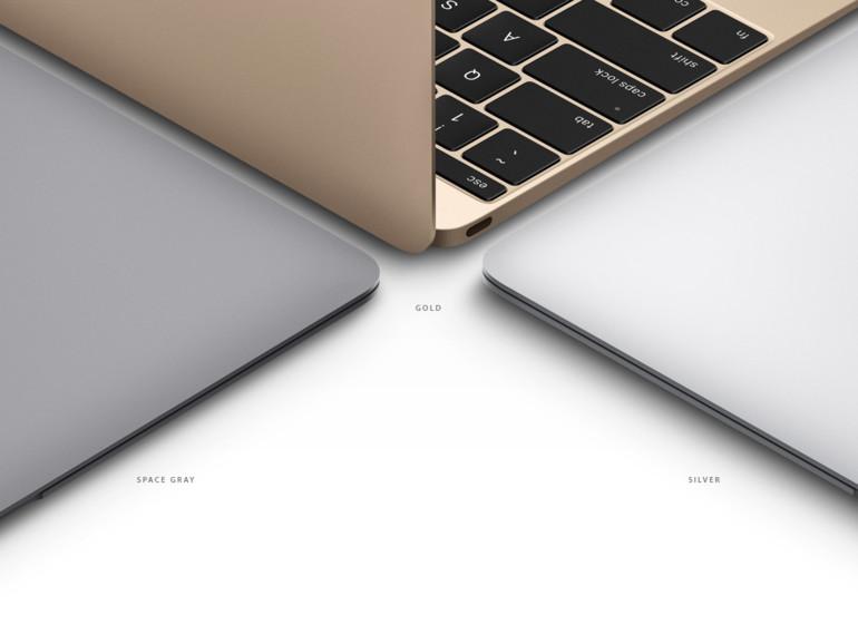 Apples MacBook besitzt ein unglaublich kleines Gehäuse