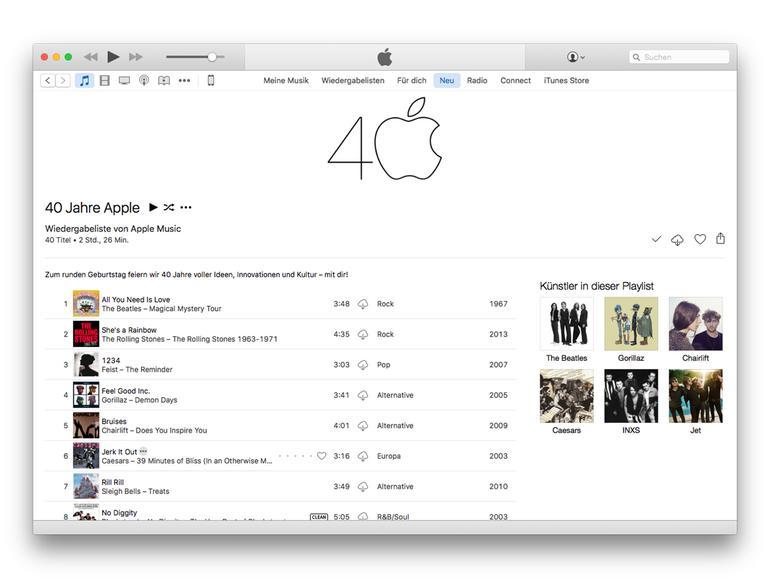 Offizielle Playlist: Das sind die Songs aus 40 Jahren Apple-Werbung