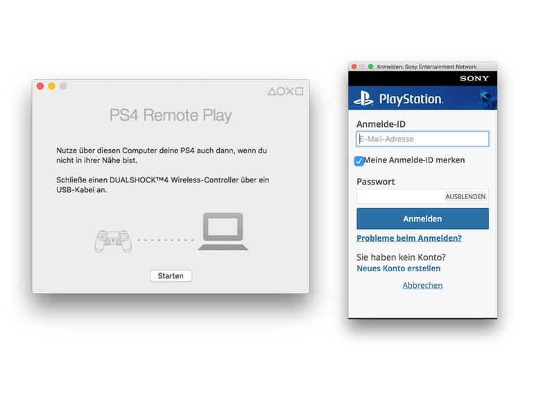playstation 4 spiele auf dem mac mit remote play mac life. Black Bedroom Furniture Sets. Home Design Ideas