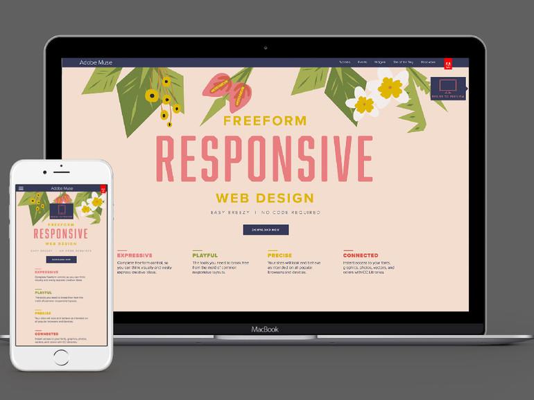 Webdesign ohne Programmierung mit Adobe Muse | Mac Life