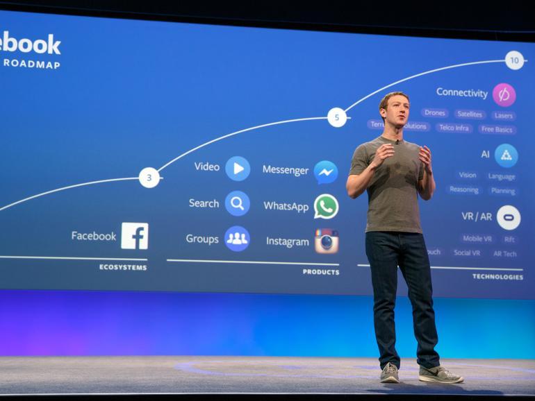Zuckerberg kündigte vor rund einem Monat Bots für den Messenger an