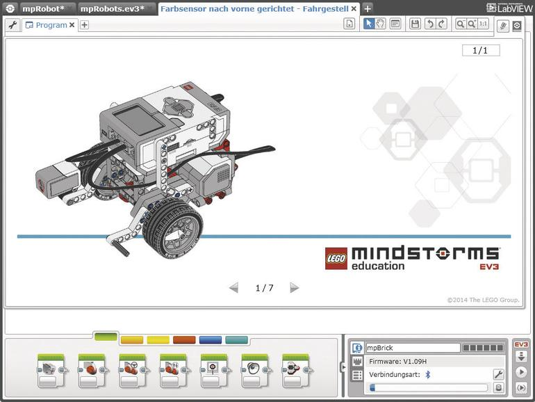 Lego Education stattet die Forschungssonde mit vielen Sensoren aus.