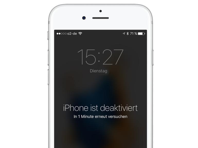 iPhone deaktiviert - Das können Sie dagegen tun | Mac Life