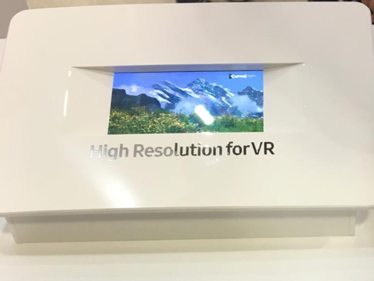 5,5 Zoll Display in 4K-Auflösung