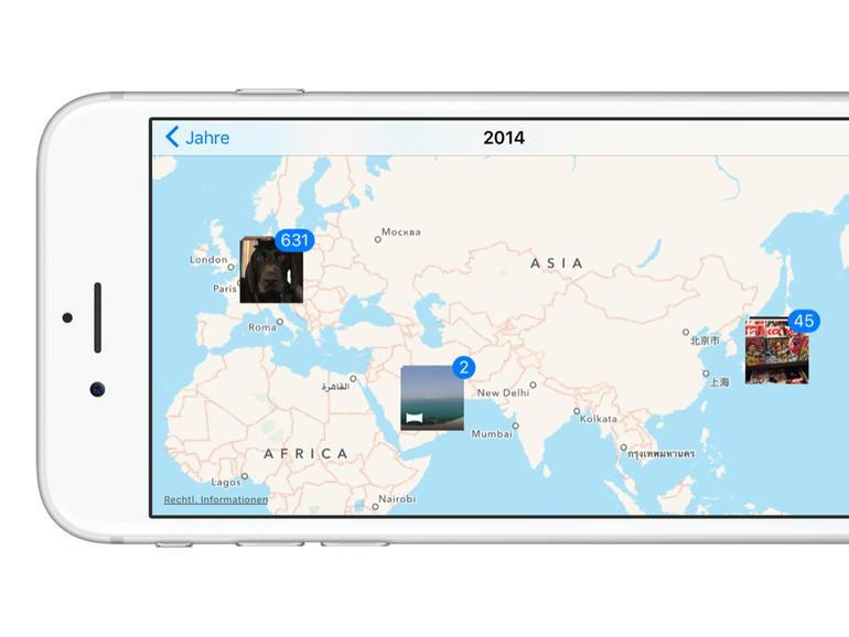 karte anzeigen Fotos App: Aufnahmen auf Karte anzeigen lassen   so geht's | Mac Life karte anzeigen