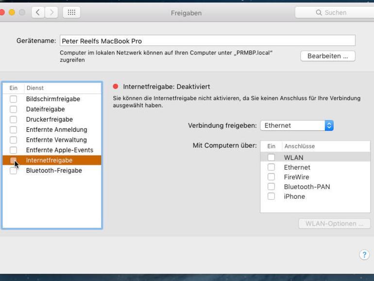 Internetzugang teilen: So helfen Mac und iPhone einander aus
