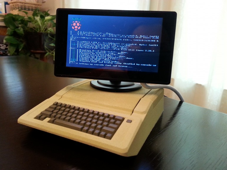 Apple IIe als Raspberry Pi Gehäuse