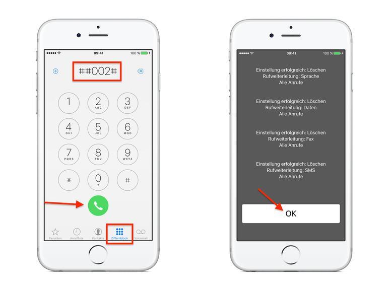iphone mailbox abstellen
