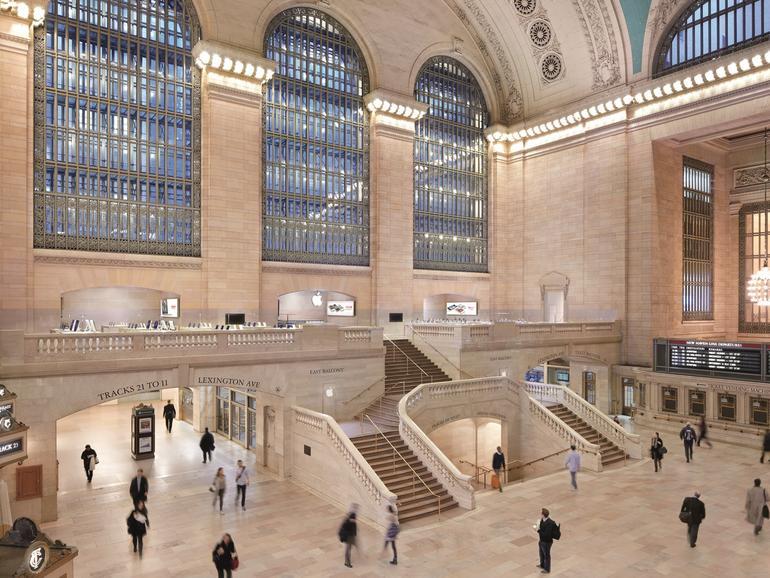 Diebe haben einen New Yorker Apple Store ausgeraubt