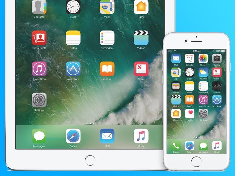 iOS 10 auf iPhone und iPad